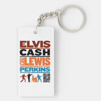 Million Dollar Quartet Names Key Ring