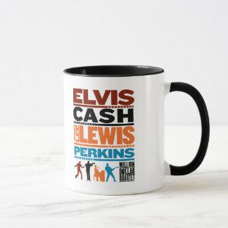 Million Dollar Quartet Names Mug