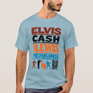 Million Dollar Quartet Names T-Shirt