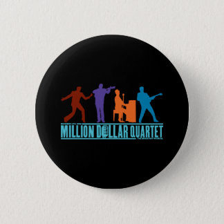 Million Dollar Quartet On Stage 6 Cm Round Badge