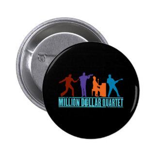 Million Dollar Quartet On Stage 6 Cm Round Badge