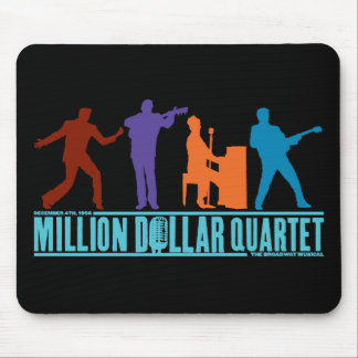 Million Dollar Quartet On Stage Mouse Mat