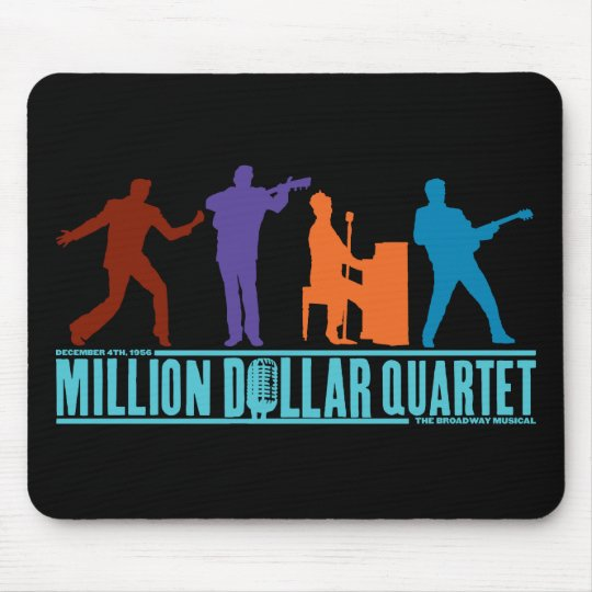 Million Dollar Quartet On Stage Mouse Mat
