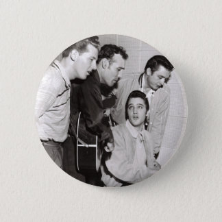 Million Dollar Quartet Photo 6 Cm Round Badge