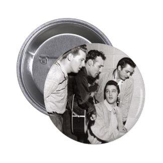 Million Dollar Quartet Photo 6 Cm Round Badge