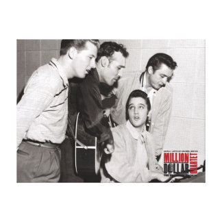 Million Dollar Quartet Photo Canvas Print
