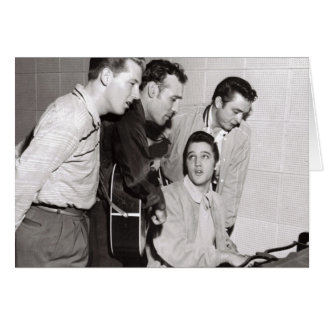 Million Dollar Quartet Photo Card