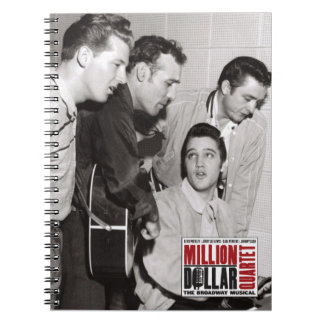Million Dollar Quartet Photo Notebooks