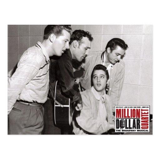 Million Dollar Quartet Photo Post Card