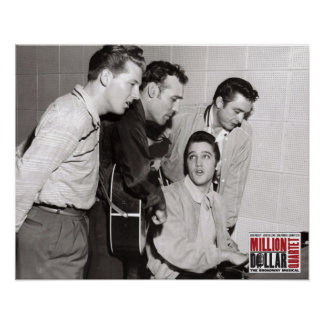 Million Dollar Quartet Photo Poster