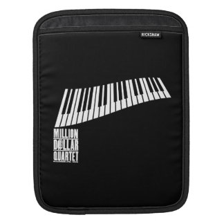 Million Dollar Quartet Piano - White iPad Sleeve