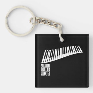 Million Dollar Quartet Piano - White Key Ring