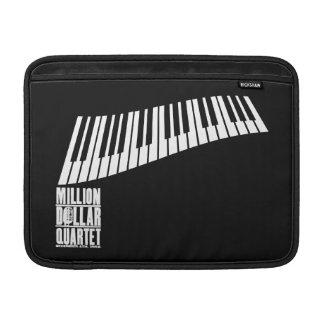Million Dollar Quartet Piano - White MacBook Sleeve