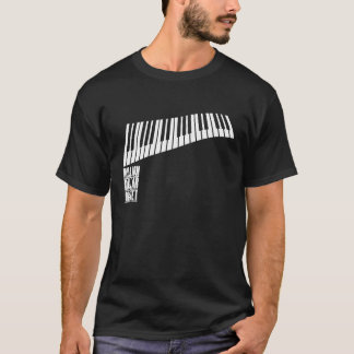 Million Dollar Quartet Piano - White T-Shirt