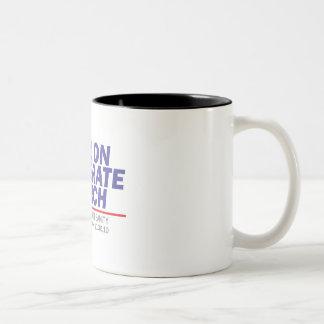 Million Moderate March Blue Stack Coffee Mug