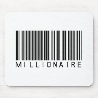 Millionaire Bar Code Mouse Pads