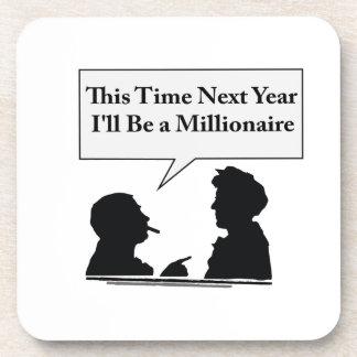Millionaire Beverage Coasters