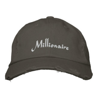 Millionaire Cap / Hat Baseball Cap