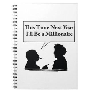 Millionaire Spiral Notebook