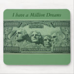 Millionaire wishes Mousepad