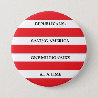 Millionaires 7.5 Cm Round Badge