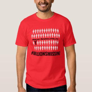 #MillionsMissing 2016 Men's T-Shirt