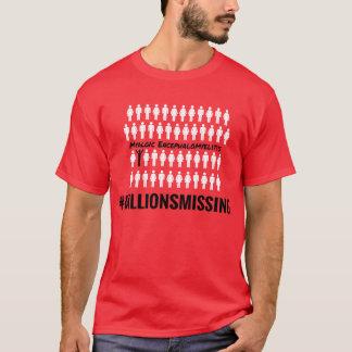 #MillionsMissing Men's T-Shirt