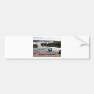 Millport, Isle Of Cumbrae - Low Tide Bumper Stickers