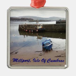 Millport, Isle Of Cumbrae - Low Tide Christmas Tree Ornament