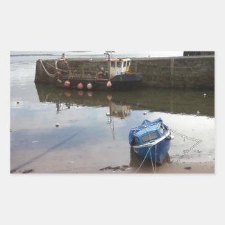 Millport, Isle Of Cumbrae - Low Tide Rectangular Sticker