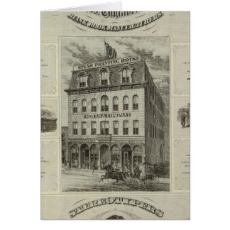 Mills & Company, Des Moines, Iowa Greeting Card