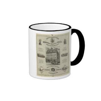 Mills Company Des Moines Iowa Mug