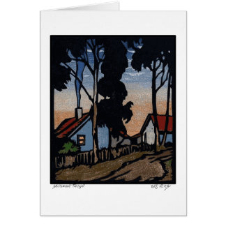 Millsmont Twilight Note Card
