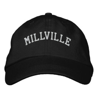 Millville New Jersey Embroidered Baseball Cap