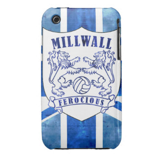 Millwall Shield & Flag Case-Mate iPhone 3 Case