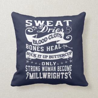 Millwright Woman Cushion