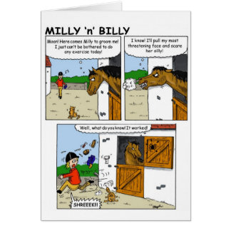 Milly and Billy 'spider' Card