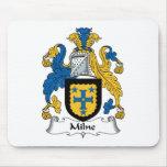 Milne Family Crest Mouse Mat