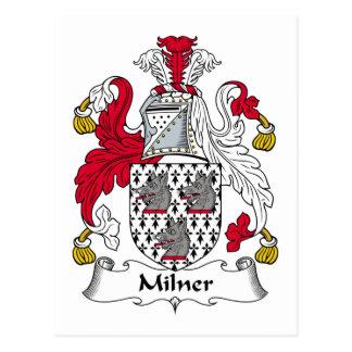 Milner Family Crest Postcard