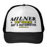 Milner Pit Crew Trucker Hat
