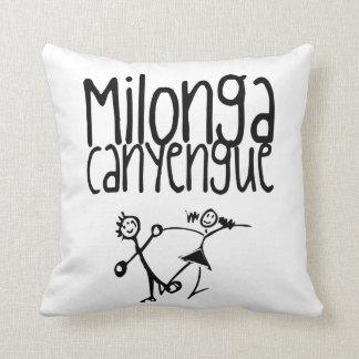 Milonga Canyengue Throw Cushions