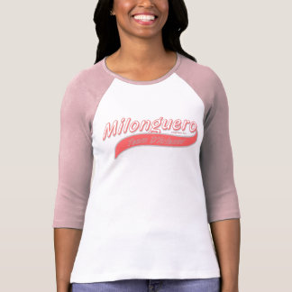 milonguero team D'Arienzo pink Tshirt