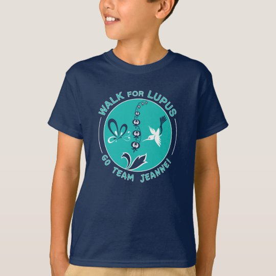 "Milo's ""Team Jeanne"" Lupus Walk T-Shirt"