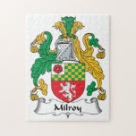 Milroy Family Crest Jigsaw Puzzles