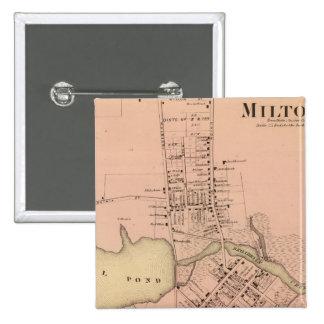Milton Delaware 15 Cm Square Badge