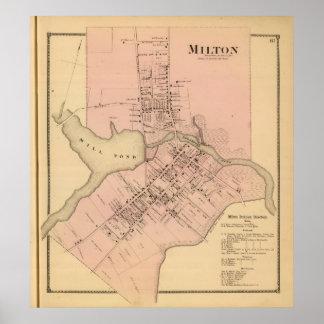 Milton Delaware Poster