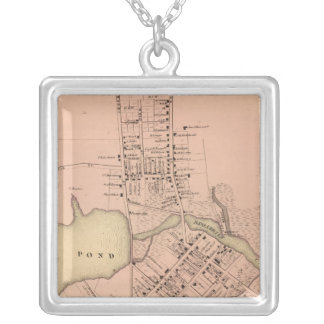 Milton Delaware Silver Plated Necklace