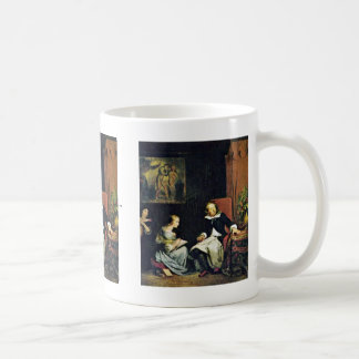 Milton Dictated To His Daughters Coffee Mug