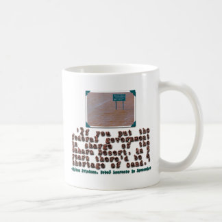 Milton Friedman Quote Government Efficiency Coffee Mugs
