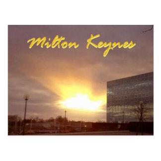 Milton Keynes ray of sun postcard